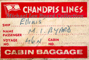 Label for Cabin Baggage