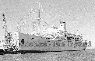 Himalaya photographed at Station Pier 1956