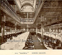 Mantua Dining Saloon 1912