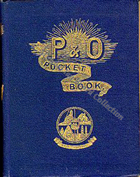 P and O Passengers Information Book 1888