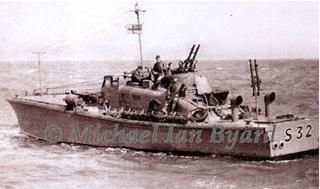 Photograph of BPB MASB 32 in Wartime
