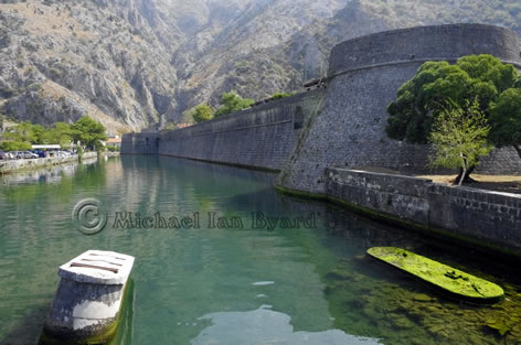 Kotor Town Walls and Moat