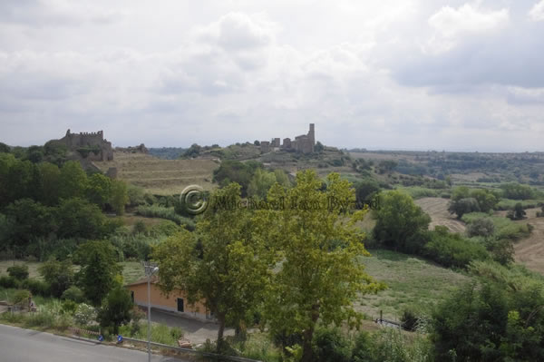 View of Tuscania Countryside
