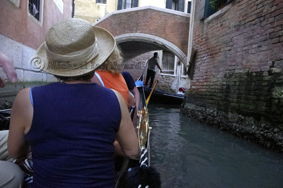 Side Canal from Gondola