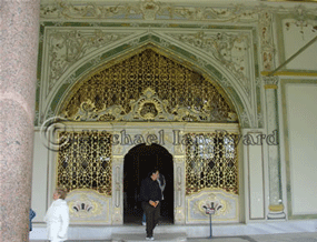 Entrance to the Diva, Topkapi Palace