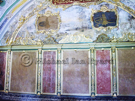 Ornate Wall Decoration, Topkapi Palace